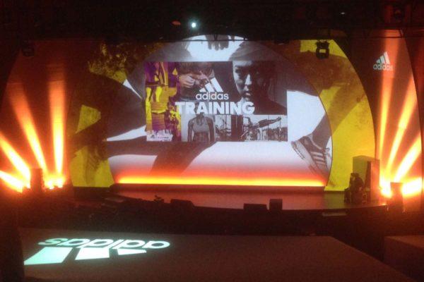 Proyecto iluminación de evento deportivo, Visual gs, servicios audiovisuales para empresas en Madrid