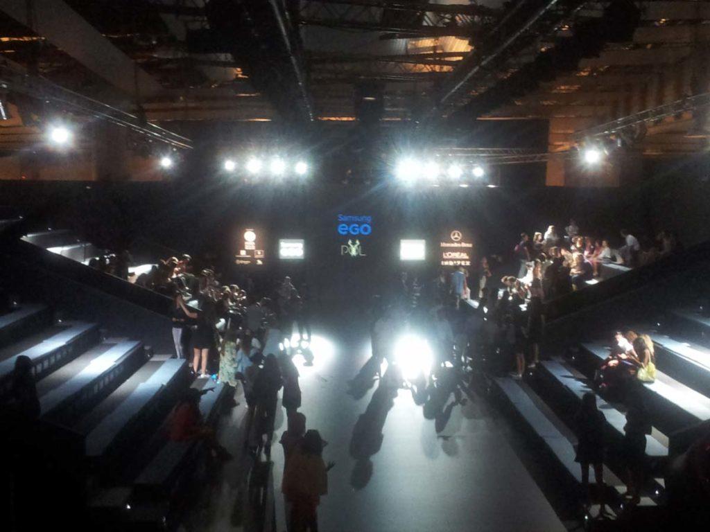 Proyecto iluminación de evento Samsung EGO, Visual gs, servicios audiovisuales para empresas en Madrid